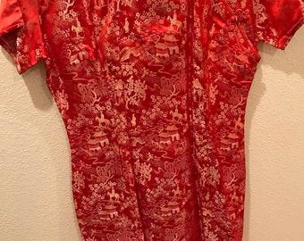 Vintage Oriental Dress