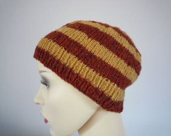 Hand Knit lambswool hat