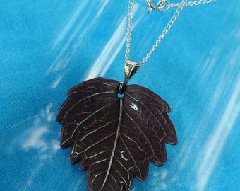 Frosted Chocolate Leaf