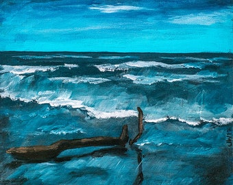 Driftwood on Bradford Beach