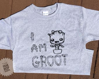 I Am Groot Shirt * Baby Groot * Guardians of the Galaxy *