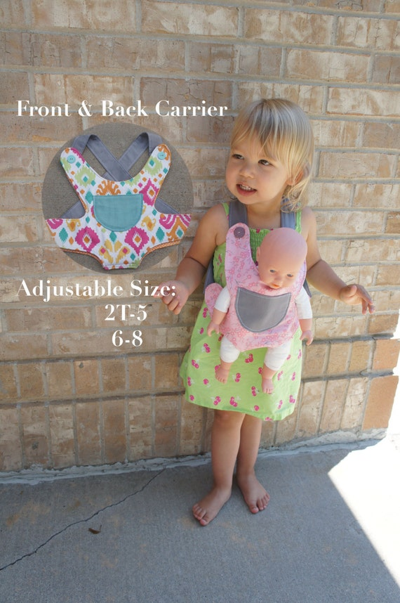 Baby Doll Carrier Sewing Pattern, Doll Carrier Sewing Tutorial ...