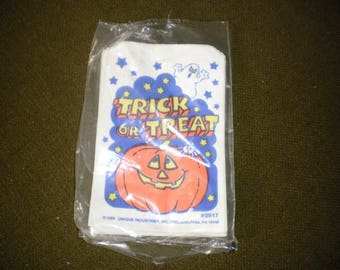 Vintage Trick or Treat Candy Bags