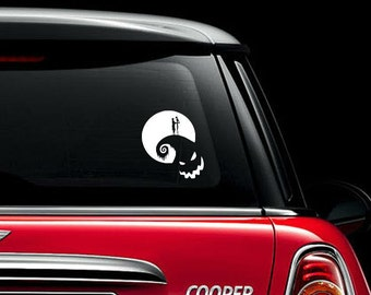 "Nightmare Before Christmas ""Romance"" Vinyl Decal"