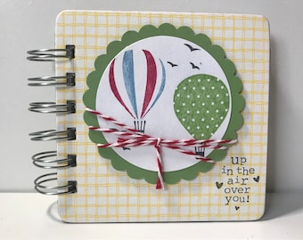 Hot Air Balloon Password Book