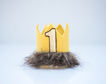 Where the Wild Things Are Inspired Crown, Cake Smash, Photo Prop, Smash Cake, First Birthday Cake Smash, First Birthday Smash Cake, Birthday