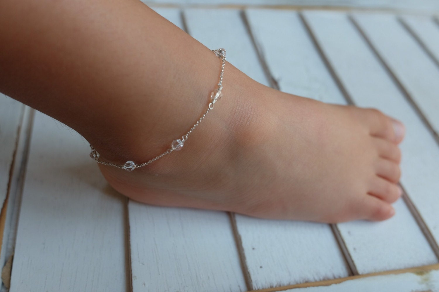 gallery anklet beautiful photo freshwater pearls il silver fullxfull qlbo ankle knot and infinity sterling listing toddler bracelet white