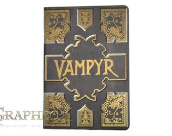 Fan-made Vampyr Slayers Handbook Buffy the Vampire Slayer inspired personalized journal notebook