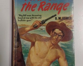 Pirates of the Range by B.M. Bower Mapback #466 1937 Vintage Western Paperback
