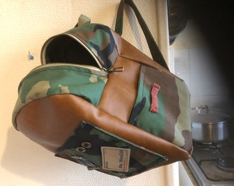 Military backpack child