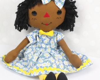 Black baby dolls etsy cinnamon annie raggedy ann doll black baby doll african american doll rag doll negle Images