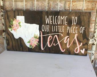 little piece of texas, customize me