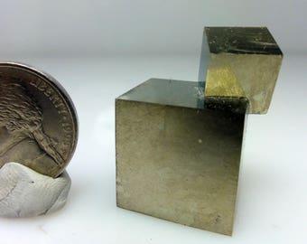 Iron Pyrite, Victoria mine, Spain  P- 8, Fools Gold, Crystal, Specimen, Mineral, Healing