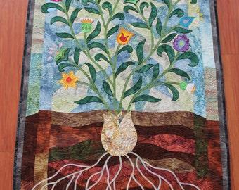 Spring Flower quilt
