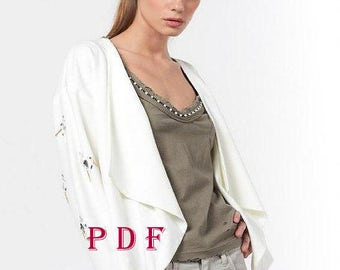 Digital Pattern -PDF Sewing Pattern by Style Adi - Sewing Project-Blazer