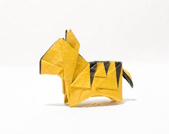 Instruction-origami Tiger (diagrams)