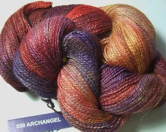 Malabrigo Baby Silkpaca Archangel 850 Alpaca Silk Lace Yarn