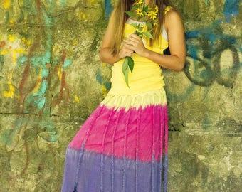 Hippy Dippy Rainbow Brite Skirt/Dress
