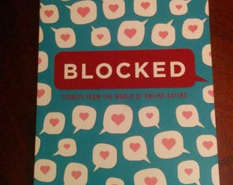 "Personalized copy of ""Blocked"" comic anthology"