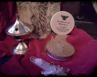 Goddess of Witches He-kyphi .5oz Hekate Incense