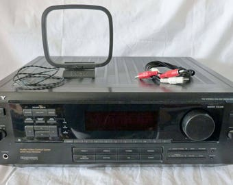 Stereo Sony STR-D650Z AM/FM Receiver, gifts for him, music, audio, home theater, entertainment, radio, man cave, musicians, electronics