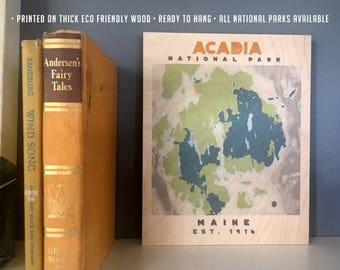 Acadia national park Etsy