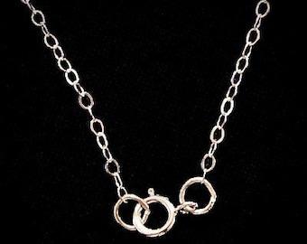 20 Inch Silver Chain