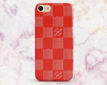 Supreme Case iPhone 8 Plus Case iPhone 7 Plus Case Samsung S6 S7 Edge iPhone 8 Case iPhone X Case iPhone 6s Case iPhone 5s Case Supreme Red