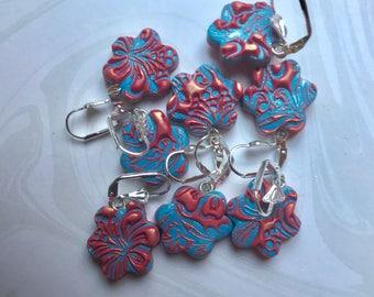 Stitch Markers, Polymer Clay