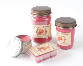 Dragons Blood - Natural Soy Candle