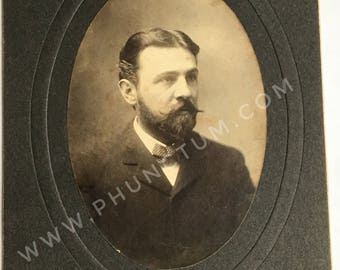 Elmer S. Riggs Paleontologist Antique Photo