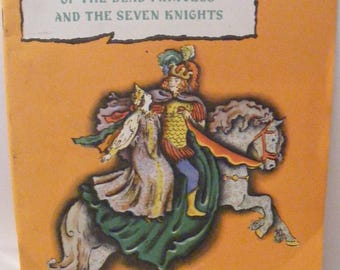 Vintage Russian Folk Story The Dead Princess and the Seven Knights by Aleksandr Pushkin