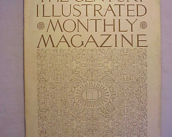 January 1899 The Century Illustrated Monthly Magazine has over 100 pages