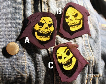 Skeletor Pins