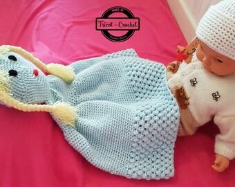 Doll for baby pram blanket