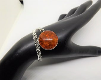 20 mm Natural Baltic Amber Necklace
