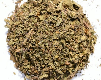 HOLY BASIL | Organic Herbal Tea | Krishna Tulsi | Loose Leaf or Tea Bags | Tea Tin | Eco-Friendly