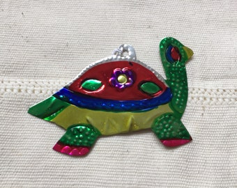 Turtle shaped decorative Tin