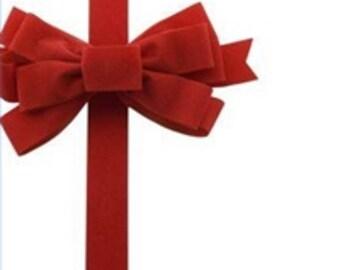 Gift Wrap Option, present option, Christmas Wrap, Birthday Wrap, Holiday Wrap, gift wrap service