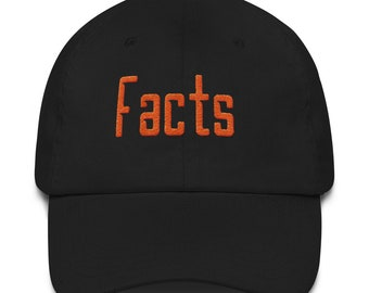 Facts hat by JayCo -- Quality first-- Exclusive
