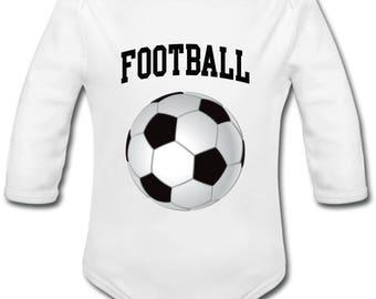 Soccer ball - possibility of custom name onesie