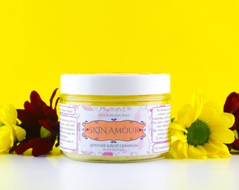 Skin Amour Lavender And Rose Geranium Body Butter 100g