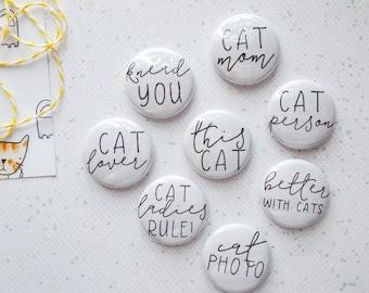 Cat Phrases - Mini Flair Set