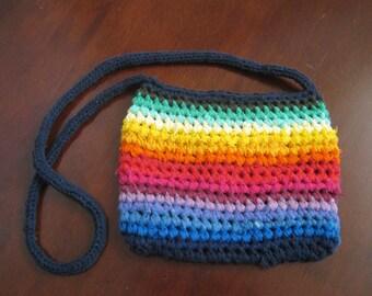 handbag'rainbow'