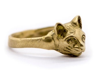Ring Cat SAVVY // Brass