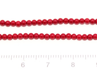 Dyed Coral beeads 2mm 1string/G-0002