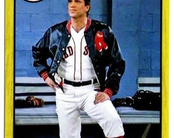 "Custom Made Sam ""Mayday"" Malone Boston Red Sox Baseball Card CHEERS Ted Danson"