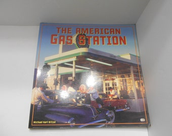 Vintage 1992 Publication The American Gas Station (20) Michael Karl Witzel