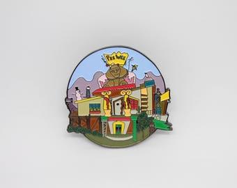 Peewee's Playhouse Soft Enamel Pin