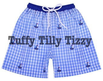 Boys Boat Swim Trunks